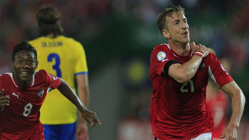 Marc Janko's goal proved the winner