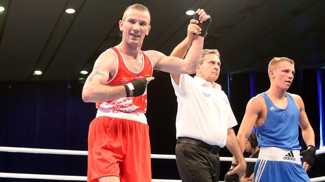 John Joe Nevin is the European champion