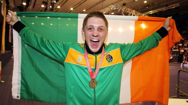 Jason Quigley dominated his Polish opponent