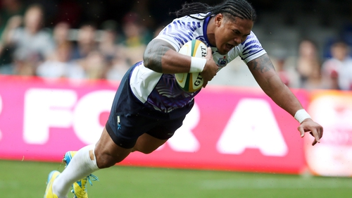 Alesana Tuilagi scored two tries as Samoa claimed their first ever win over Scotland