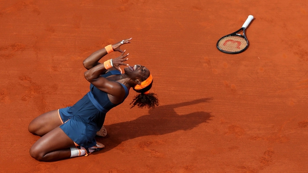 Serena Williams won nine singles titles on the WTA Tour, including the French Open and the US Open crowns