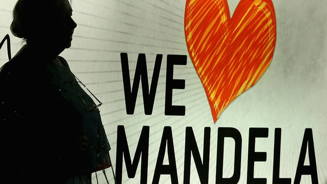 Many South Africans revere Mr Mandela as a symbol of the struggle against apartheid