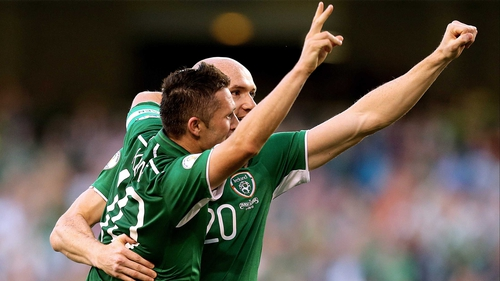 Robbie Keane & Conor Sammon will lead the line at Yankee Stadium