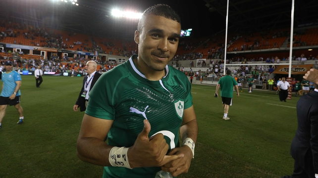 Simon Zebo has recovered from injury in time for the Six Nations
