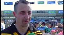 Eoin Larkin is not sure if Kilkenny will be happy with their win over Offaly.