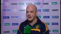 Offaly manager Ollie Baker says they will learn from defeat to Kilkenny.