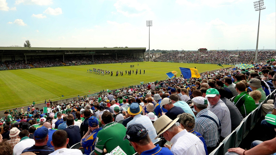 The sun was also shining for the Munster SHC tie between Limerick and Tipperary in the Gaelic Grounds