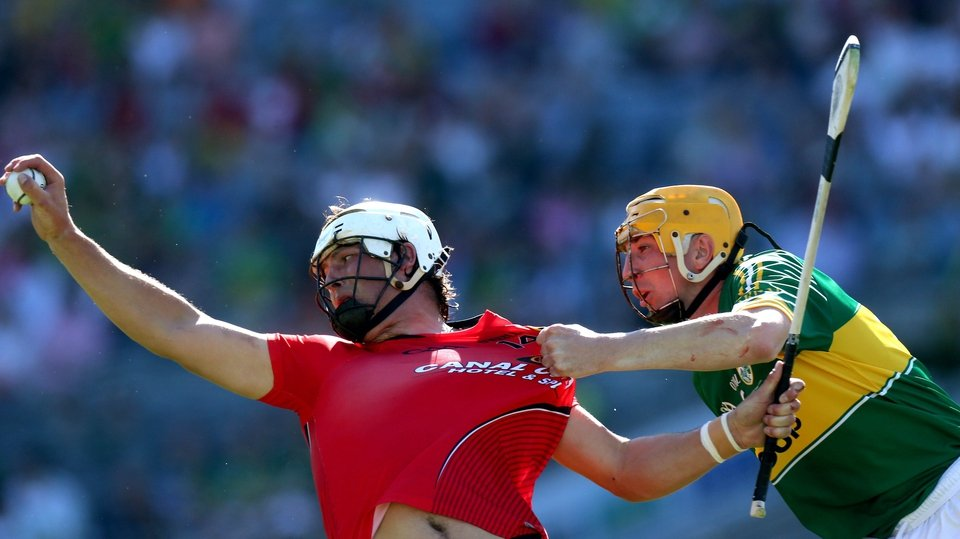 Down won the Christy Ring decider, beating Kerry thanks to a late goal from Gareth 'Magic' Johnson