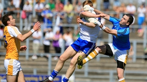 Monaghan ran out five-point winners over Antrim in the Ulster SFC quarter-final in Casement Park