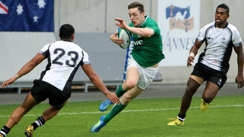 Darren Sweetnam scored two tries for Ireland