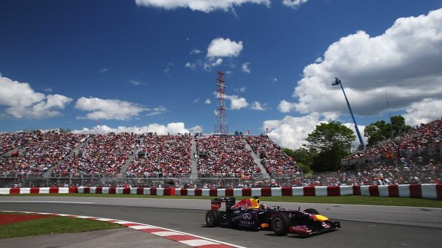 Sebastian Vettel finished 14 second clear of Fernando Alonso