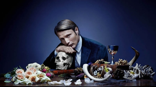 Mads Mikkelsen plays cannibal Hannibal Lecter in Hannibal