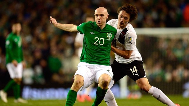 Connor Sammon will Robbie Keane up front in the Yankee Stadium