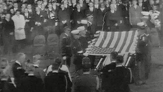 President Kennedy's Burial at Arlington Cemetery, 1963