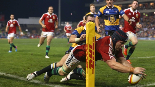 The Lions held the opposition scoreless in their latest tour match