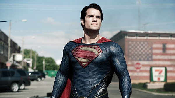 Henry Cavill as Superman in Man of Steel