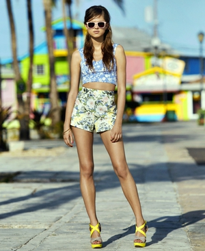 Floral Print Shorts €13 Penneys