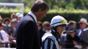 Henry Cecil and Kieren Fallon pictured before their high-profile split