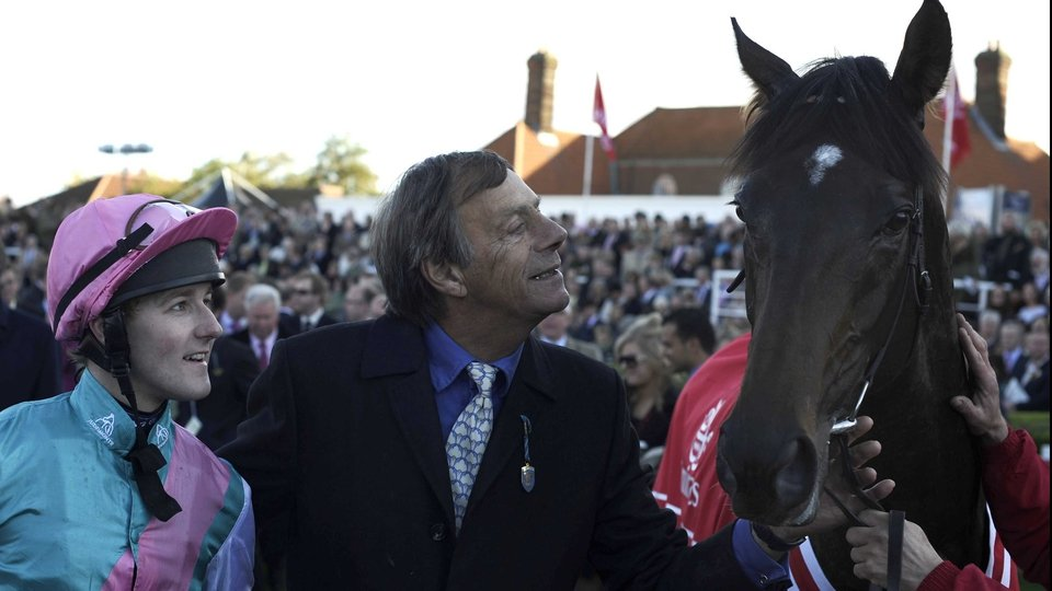 Apple of their eyes - Henry Cecil, Tom Queally and Frankel
