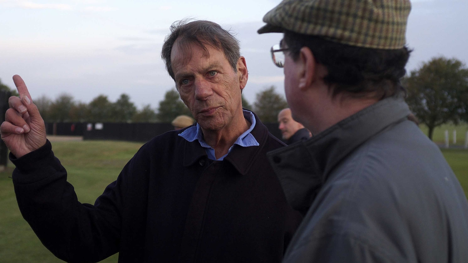 Henry Cecil at Newmarket racecourse in 2011