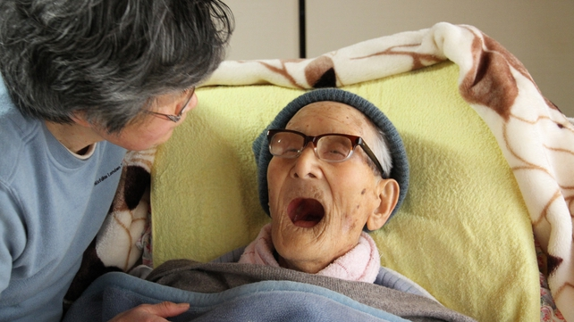 Jiroemon Kimura had been in hospital with pneumonia