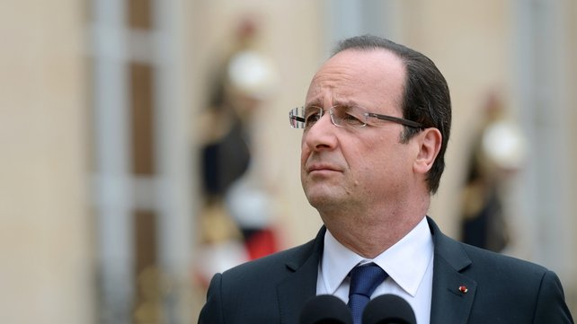 Francois Hollande said the killing was a 'heinous act'