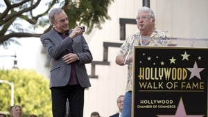Randy Newman with pal Neil Diamond at the Hollywood Walk of Fame ceremony