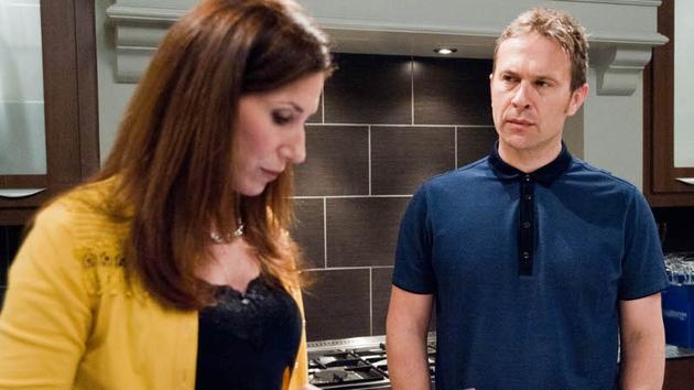 Declan voices his concerns to Megan about Katie