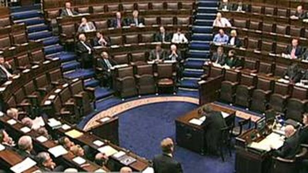 The amendments are to be discussed in the Dáil tomorrow