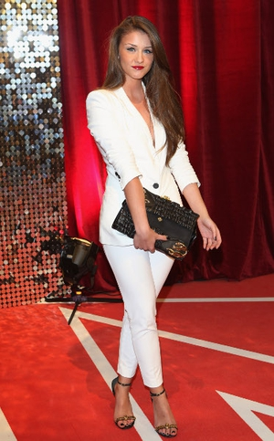 Coronation Street star Brooke Vincent denied claims that she had an argument with her co-star Michelle Keegan while celebrating her birthday