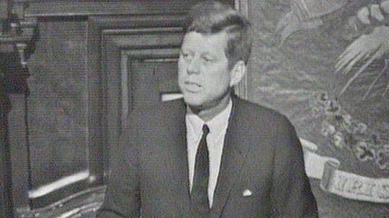 President Kennedy Makes Dáil Speech, 1963