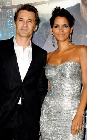 French actor Olivier Martinez confirmed that he and fiancée Halle Berry will welcome a son later this year