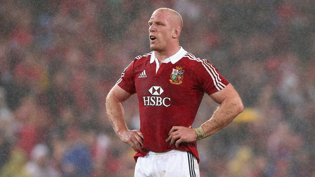 Paul O'Connell's Lions tour is over