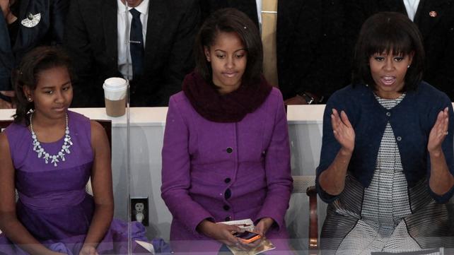 Michelle, Malia and Sasha Obama will visit Trinity College