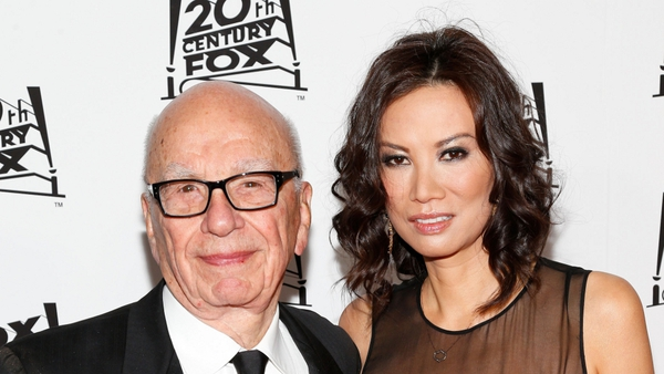 Rupert Murdoch and Wendi Deng have been married since 1999