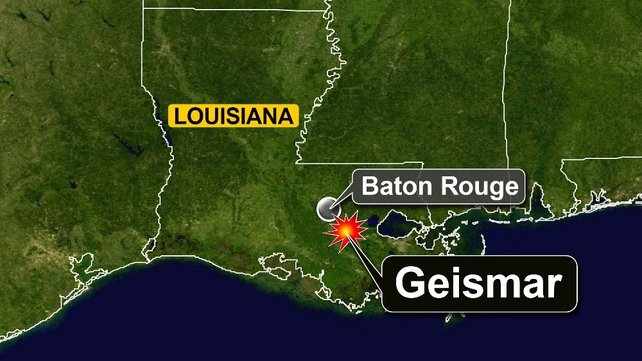 Eight people were taken to Baton Rouge Medical Center