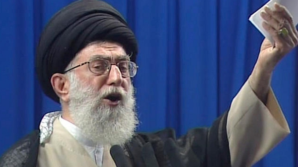 Ali Khamenei says Iranians 'don't give a damn' what the US says about the election