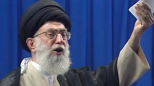 Ayatollah Ali Khamenei is backing the talks despite reservations about US motives