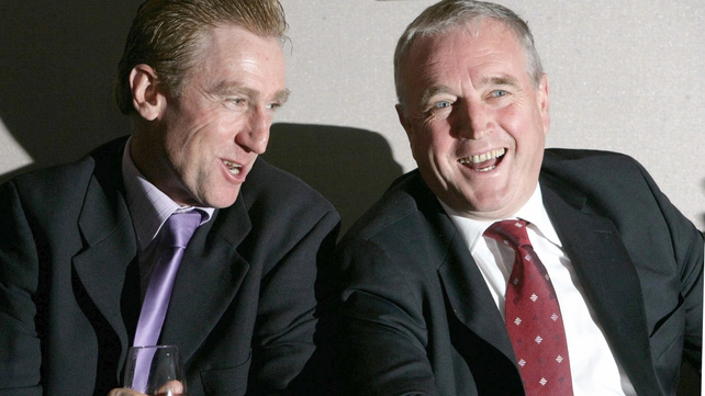 Sean Kelly and Pat McQuaid in 2006