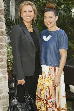 Agata Stoinska and Tania Grimson