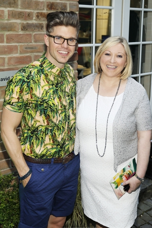 Darren Kennedy and Carmel Breheny