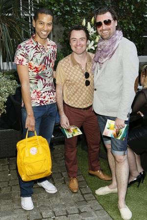 Sean Munsanje, Sean Montague and Brendan Marc Scully