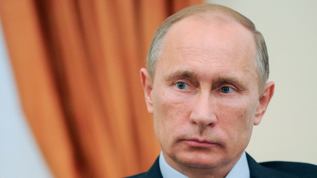Russia's President Vladimir Putin is a strong ally of Syrian President Bashar al-Assad