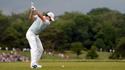 Rory McIlroy is nicely placed going into the third round of the US Open
