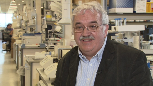 Professor Stephen O'Rahilly said he was thrilled to receive the knighthood