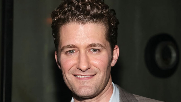 Glee star Matthew Morrison has popped the question to his girlfriend Renee Puente