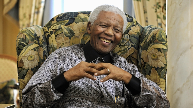 Nelson Mandela, pictured here in 2008, has a history of lung problems