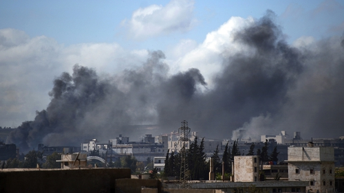 The Syrian Observatory for Human Rights said 18,000 rebel fighters had been killed
