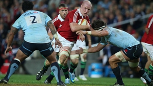 It's a third Lions tour for Paul O'Connell