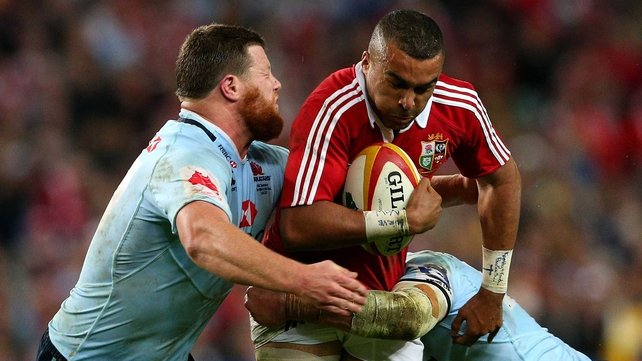 Simon Zebo suffered a crack in a bone in his left foot